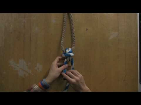 Knots & Knot-Tying Instructions : How to Tie an Anchor Knot
