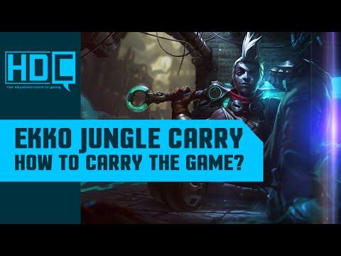Ekko JUNGLE Plays! - Full Gameplay Guide / Analysis - League of Legends