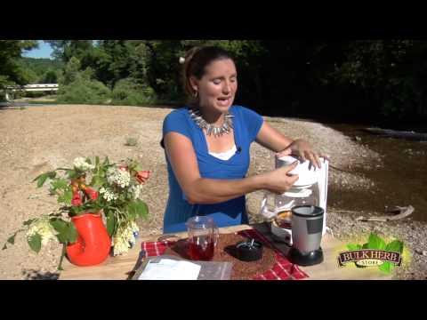 Shoshanna's Kitchen - Episode 17 - Red Raspberry Tea