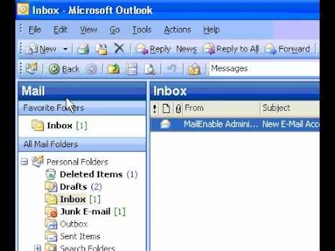Microsoft Office Outlook 2003 Change the look of stationery