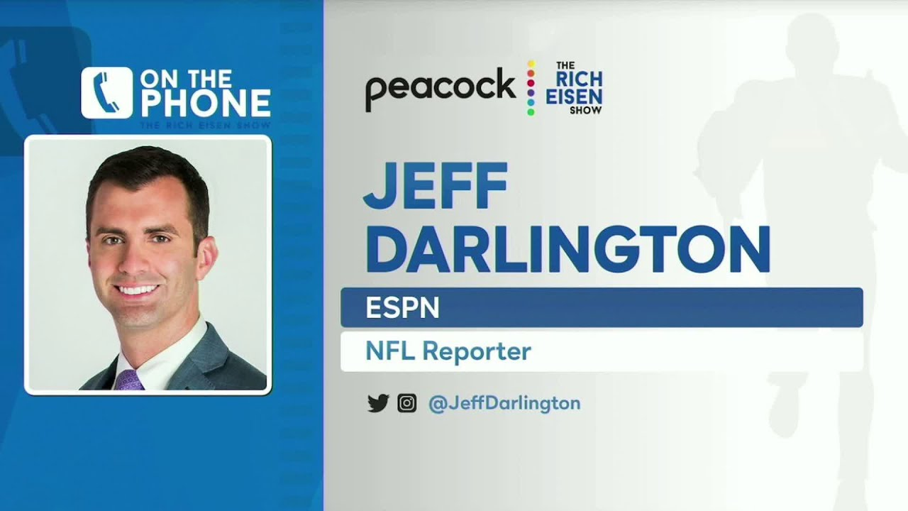 ESPN's Jeff Darlington Talks Tua, Watson, Russell Wilson, Brees & More w Rich Eisen | Full Interview