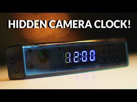 Hidden Camera Clock Unboxing