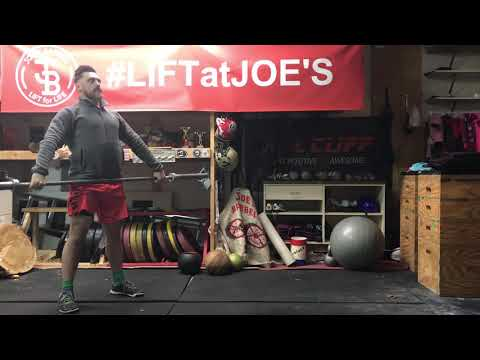 Hang Snatch with no foot movement from mid thigh