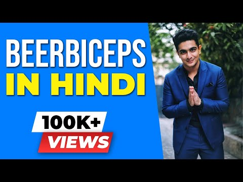 The BeerBiceps Hindi Channel is HERE