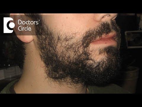 How to increase facial hair in young men?-Dr. Rasya Dixit