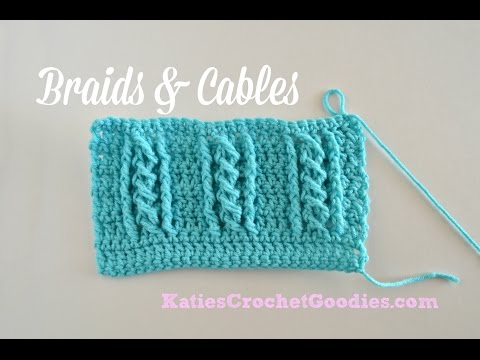 Braided Cable Crochet Stitch