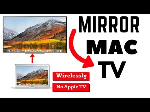 screen mirroring mac to tv wirelessly | Without apple TV