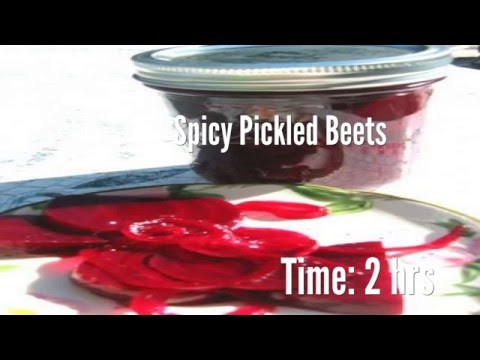 Spicy Pickled Beets Recipe