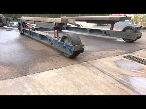 Boat trailer up to 20 tons