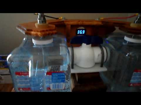 Homemade water ionizer getting 10.2 ph reading