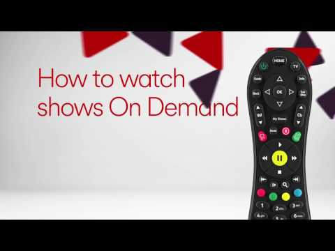 How to watch shows on Demand on V6