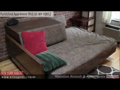 Video Tour of a Furnished Apartment on 19th St. in Chelsea, Manhattan, New York