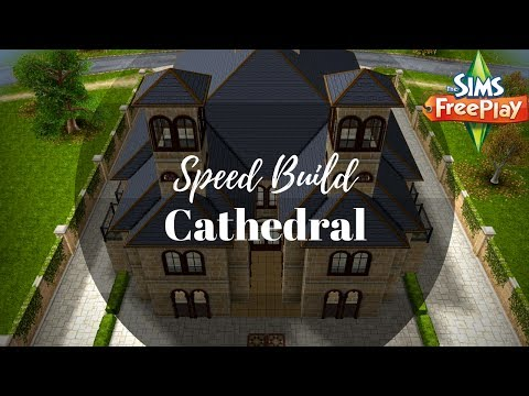 Cathedral | Speed Build | Sims FreePlay