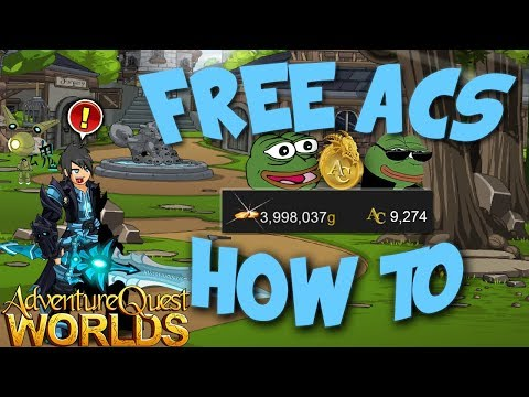 FAST AND EASY WAY TO GET *FREE* ADVENTURE COINS! 2018 AQW ADVENTURE QUEST WORLDS