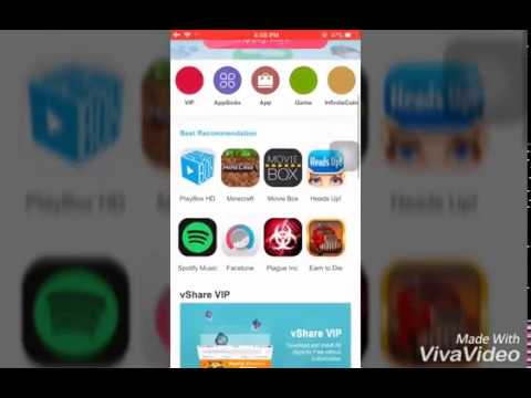How to install vshare app store in iphone ios11 No jailbreak