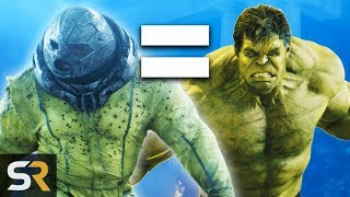 10 Live Action Movie Characters As Strong As Marvel