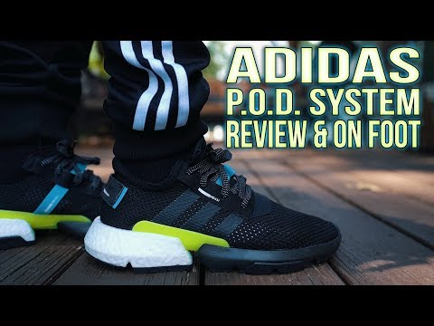 ADIDAS POD SYSTEM 3.1 REVIEW and ON FOOT