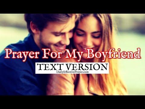 Prayer For My Boyfriend (Text Version - No Sound)