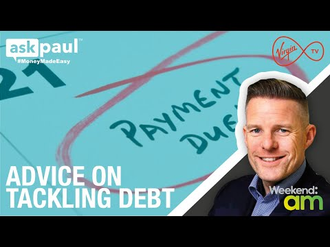 Tackling Debt Financial Advice on TV3 Sunday AM