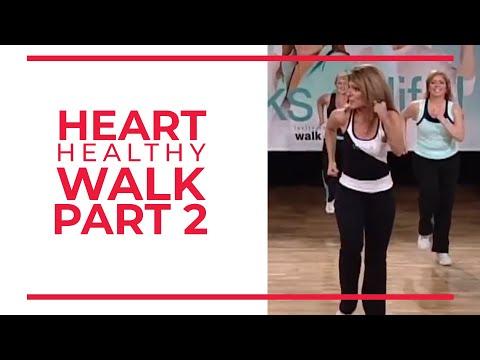 Walk at Home - Heart Healthy Walk (Part 2)