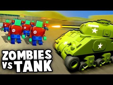 Epic LEGO TANKS vs Zombie Invasion Horde! NEW UPDATE (Brick Rigs Gameplay)
