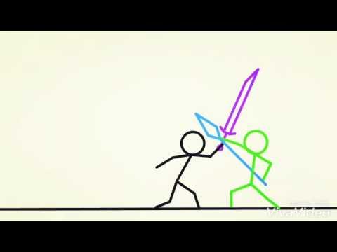 [Stick Fighter] [Sword vs Spear] [Part 1]