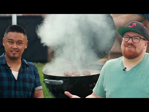 DIY Charcoal Grill Smoker: Behind Tasty