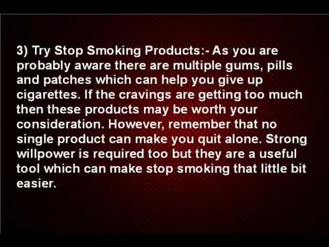 6 Super Tips to Help You Stop Smoking