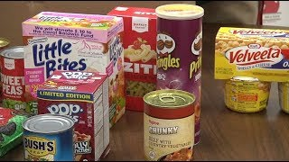 Students' surpass food collection goal