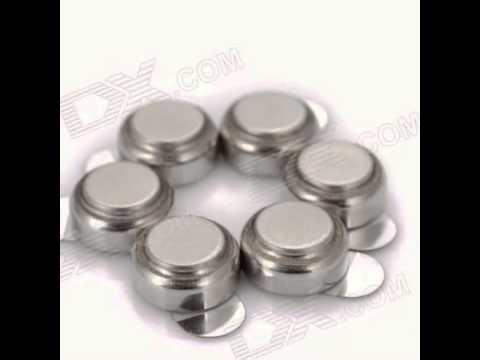TangsFire 1.45V Zinc Air A312 Button Batteries Set for Hearing Aid (6 PCS)