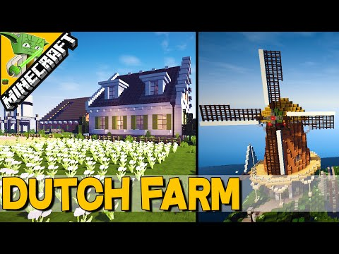 MINECRAFT DUTCH FARM /w WINDMILL – Keralis Inspiration Series