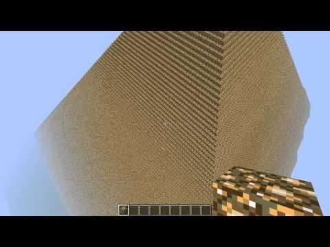 Minecraft - Biggest pyramid ever built 300X300
