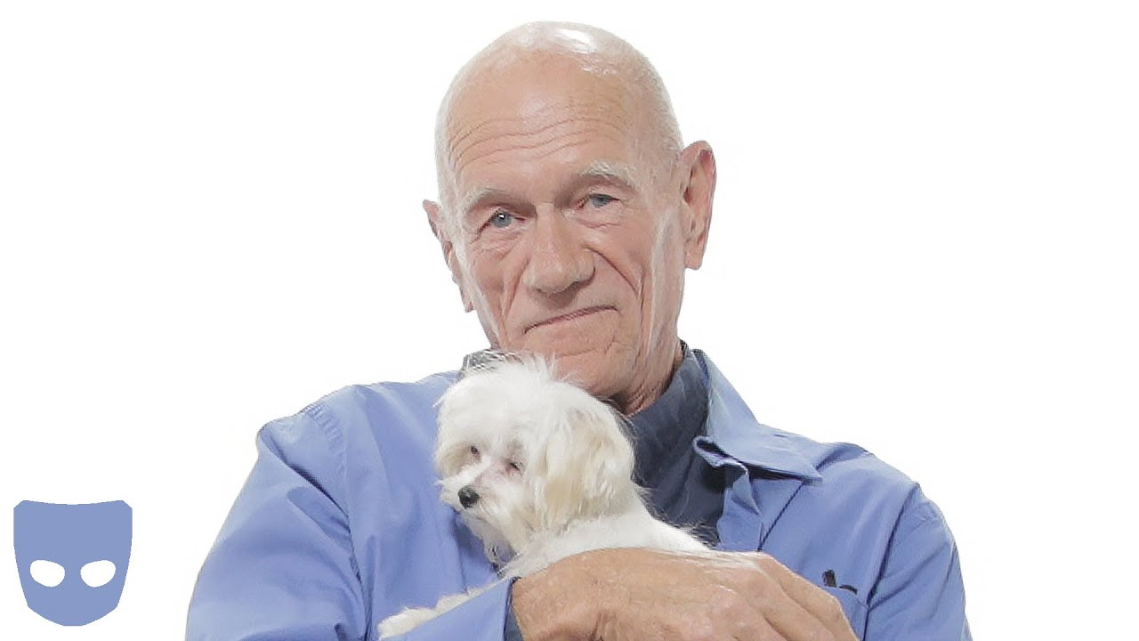 Old Gays Get Surprised With Puppies