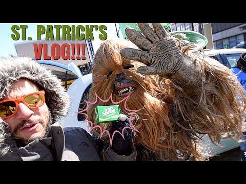 IRISH SPRING AT THE ST. PATRICK'S DAY PARADE!!! :)