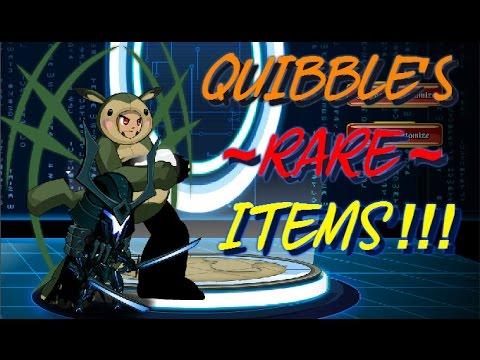 AQW - Quibble's Rare Gear - Monster Edition!!! (SHOP SHOWCASE)