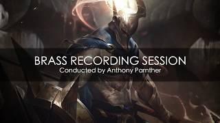 Pantheon (League of Legends) - Brass recording session sneak peek