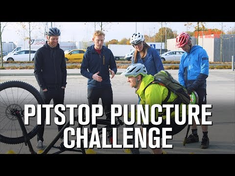 Pitstop Puncture Challenge | Mountain Bike Rider