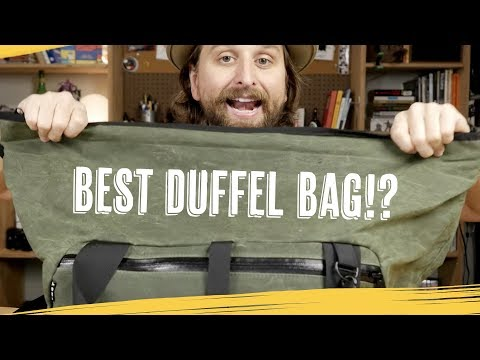 Best Travel Duffel Bag Ever?—[YNOT Viken]