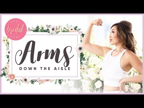 How to Get Great Arms Down the Aisle   BRIDAL BOOTCAMP