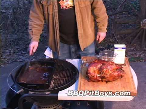 Turkey with Stuffing and Wild Turkey Gravy by the BBQ Pit Boys