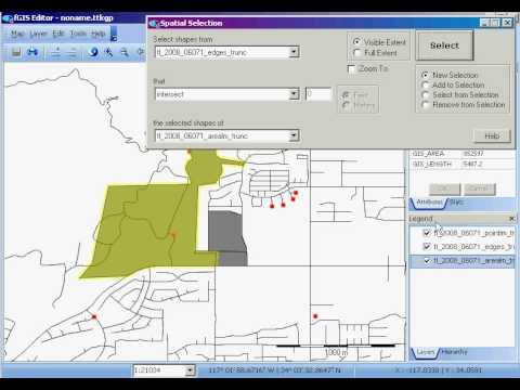 fGIS: Spatial Selection