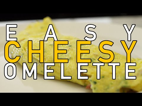 Ham and Cheese Omelette How-To (Easy Cheesy Omelette) - BenjiManTV