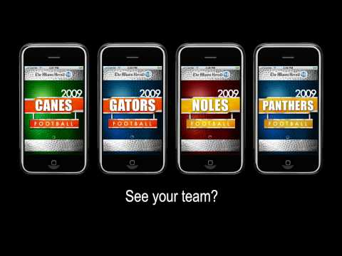 College Football iPhone Apps