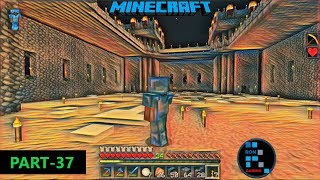 MINECRAFT GAMEPLAY   WE ARE WORKING HARD ON OUR CASTLE AND IT WILL BE AWESOME#37