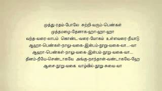 Aasai Nooru Vagai 275 Tamil Karaoke Lyrics By Dharshan YouTube