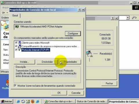 2/2 Linux (debian) como gateway da rede (COMPARTILHANDO VELOX COM LINUX) PARTE 2/2