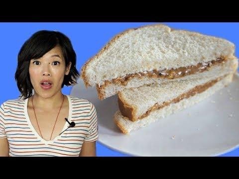 Depression Era PEANUT BUTTER + MAYO Sandwich (Pickle & Onion, too)   HARD TIMES