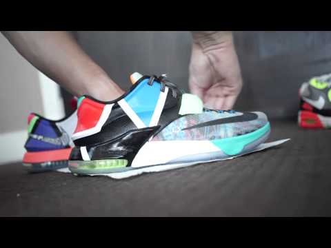 Cleaning Nike KD7