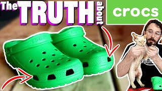 4 Hidden Features 🐊 (CUT IN HALF) 🐊 What's inside Crocs Shoe Review