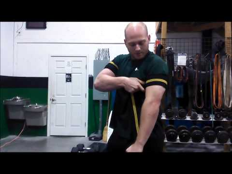 Wrapping Your Own Arms for Blood Flow Restriction Training